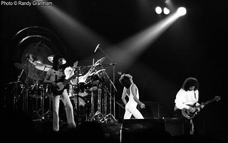 Queen live a Lakeland - 1977