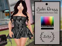 .Ecko. Salin Dress