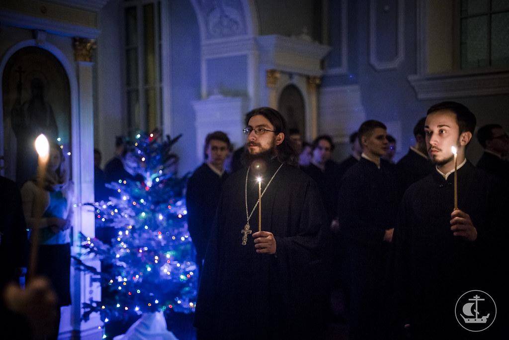 17 января 2016, Вечернее богослужение / 17 January 2017, Vespers