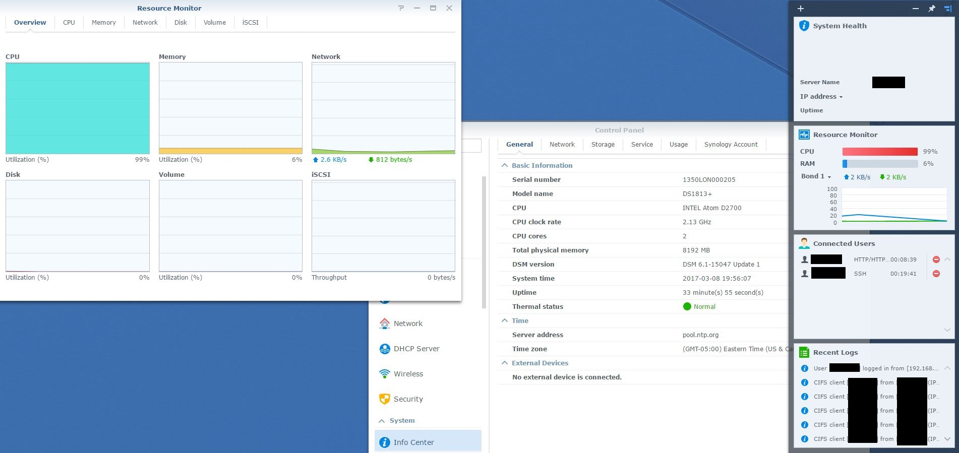 DS1813+ Ram Upgrade to 8GB | Synology Community
