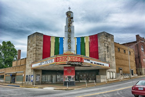theater art deco marquee