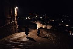 The night watch, Perugia, Italy #leicaQ #leica #leicacamera #leicaqtyp116 #leicacraft #leica_photos #leica_uk #leica_world #leicaphotography #twitter #streetphotography #everybodystreet #streetphoto #street #italy #perugia #umbria #night #nightwatch #stre
