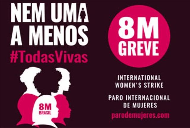 Mulheres de 30 países organizam paralisação internacional para 8 de março