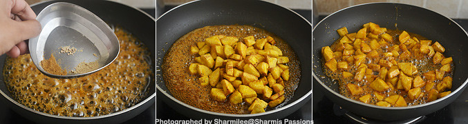 How to make Sharkara Upperi - Step3