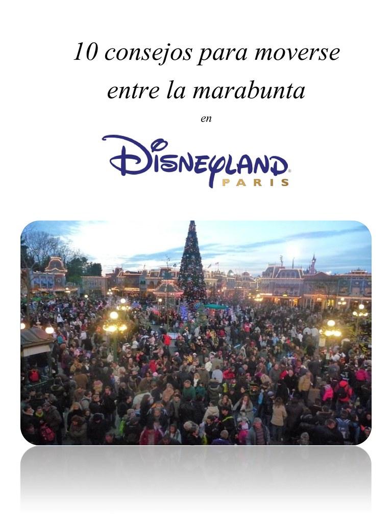 Disney 10 consejos en la muchedumbre