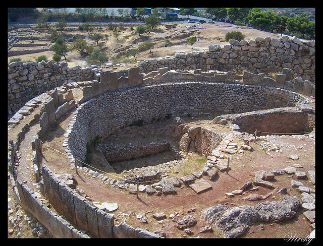 Grecia Atenas Corinto Epidauro Micenas Nauplia - Tumba circular en Micenas