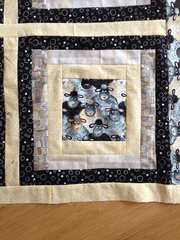 Block of the sheep quilt