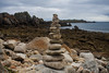 Cairns on the beach - St Agnes, Isles of Scilly by splib1