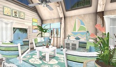 Perfect Ten, Tylar's Treasure Key West Living Room Mid Bright
