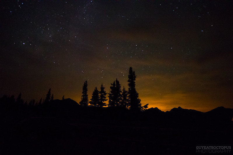 Light Pollution with the Stars
