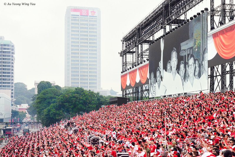 Remembering Lee Kuan Yew In Singapore National Day SG50 Celebrations