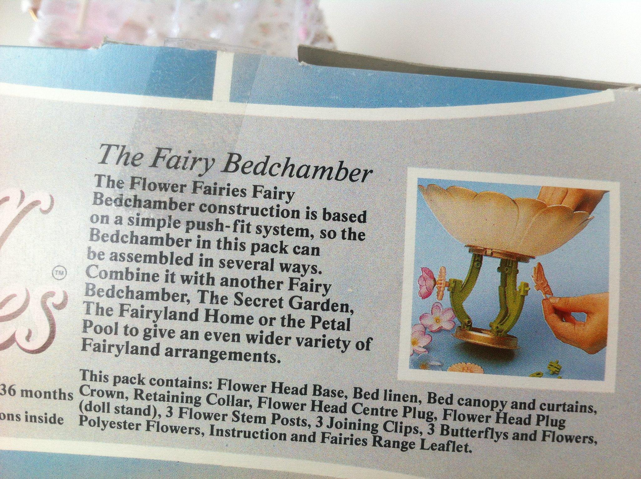 Fairy Bedchamber contents
