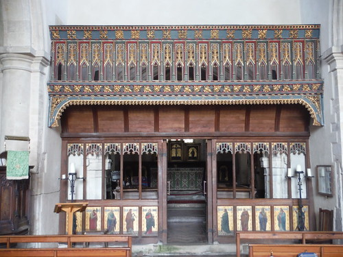 Rood Screen, St. James', Avebury