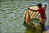Sari.  Badami by Claire Pismont