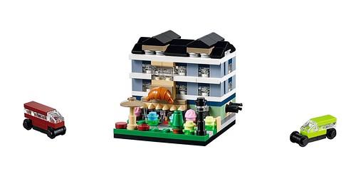 LEGO Bricktober Bakery 40143