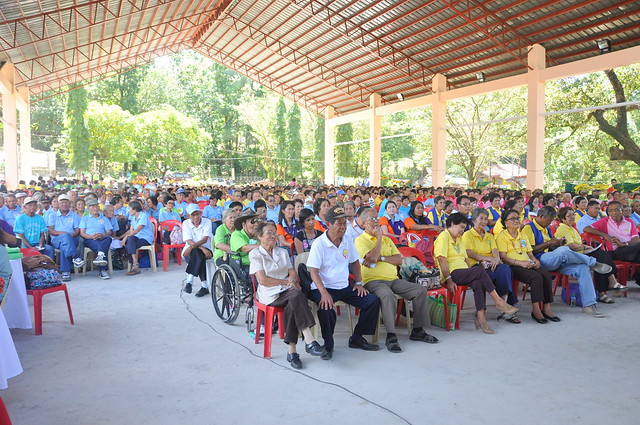 The annual Senior Citizens Congress, held in the newly rehabilitated San Remegio Civic Center