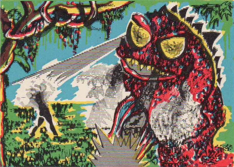 Monster Magic Action Trading Cards (1963) 14