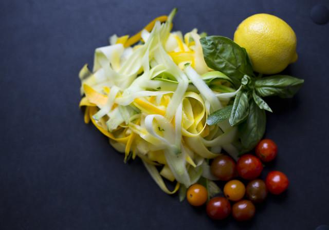 zucchini riboons