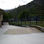 Chiusa, Bolzano, Parco in Via Stazione, Italy