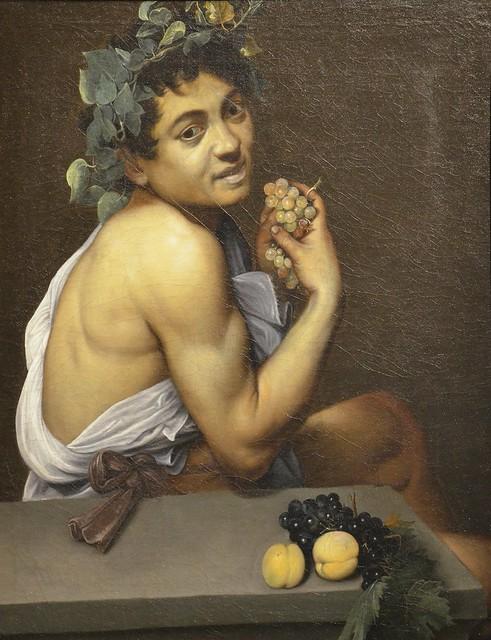 Young Sick Bacchus by Caravaggio. c. 1593