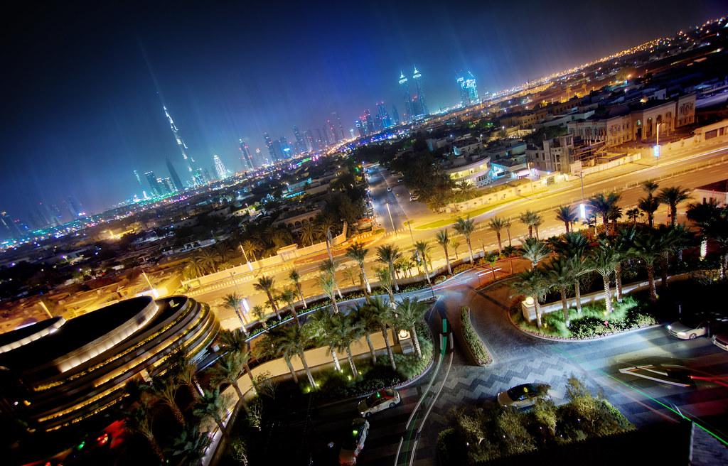 Dubai From The Four Seasons Bar
