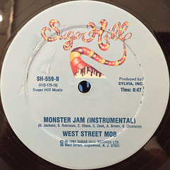WEST STREET MOB:LET'S DANCE(MAKE YOUR BODY MOVE)(LABEL SIDE-B)
