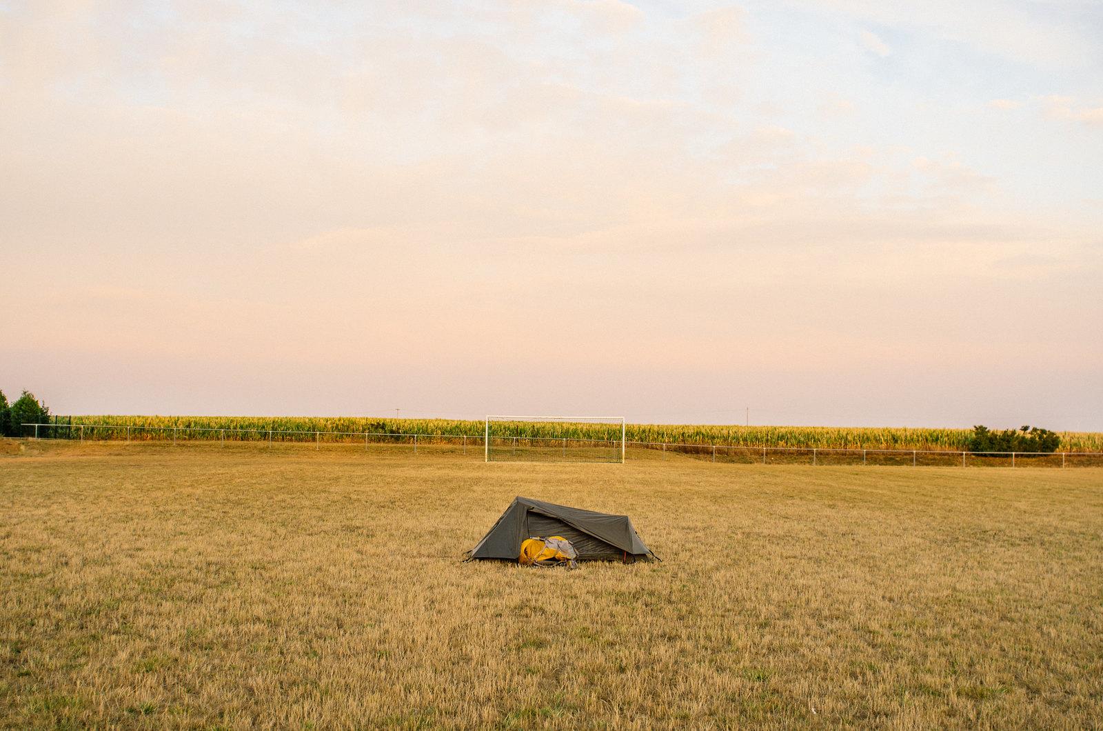 Camping royal - Carnet de voyage dans l'Aube