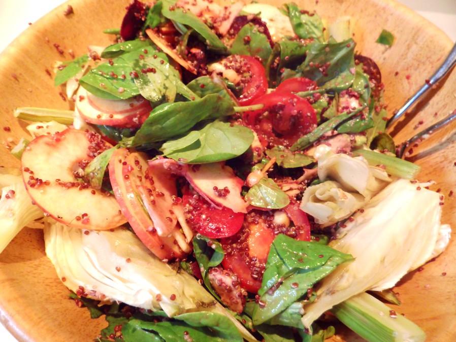 Quinoa-Fenchel-Salat