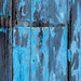 As unhinged as me (old blue door) by chrisotruro