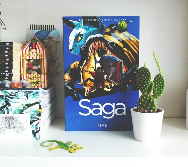 vivatramp saga volume 5 fiona staples brian k vaughan book blog uk