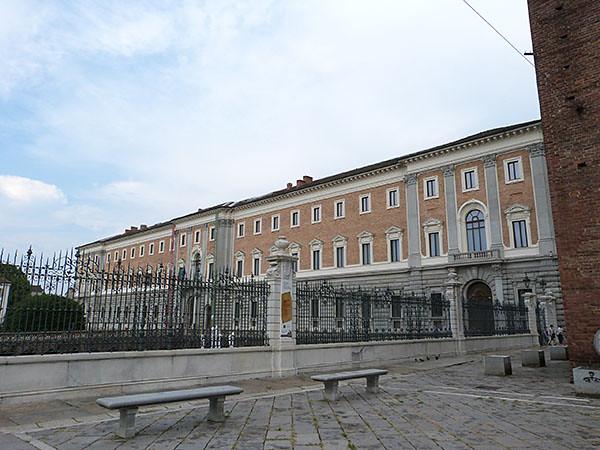 palais royal turin arrière