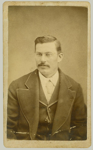 CDV Man in Coat