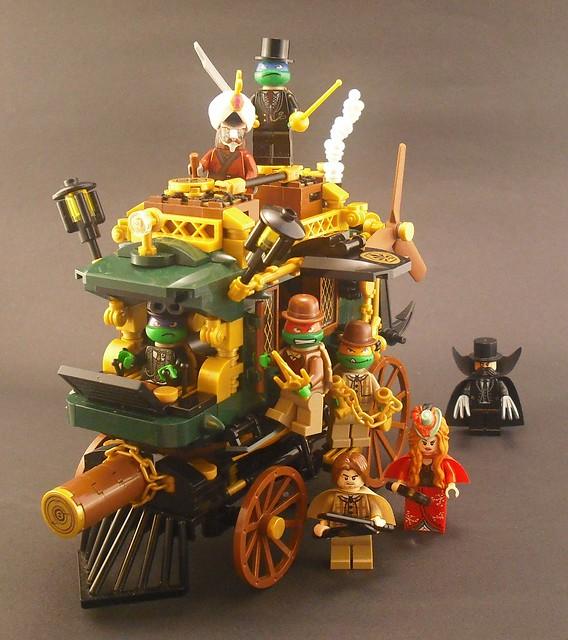 The Steam-age Mutant Ninja Turtles