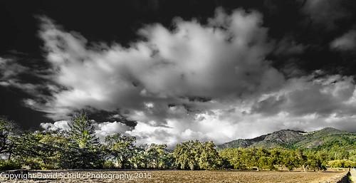 landscape blackandwhiteandcolor 11082015 clouds d810 nikon santarosaca sky fx davidschultzphotographycom
