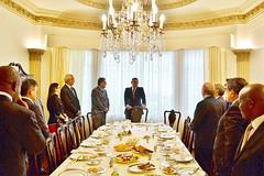 Gabino Cué, Presenta portafolio estratégico de inversión a Embajadores de Medio Oriente, Norte de África y Sudamérica, Oaxaca