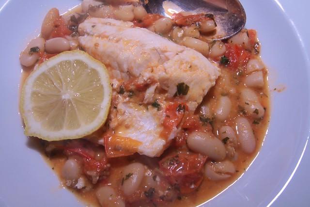 Guazetto di pesce e fagioli…