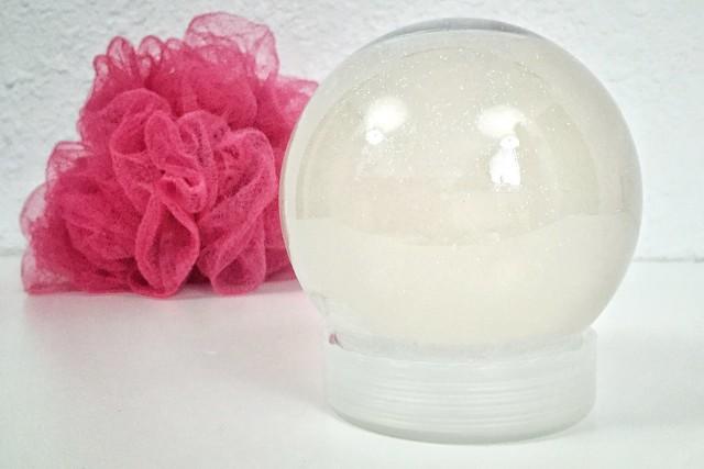 Soap Snow Globe