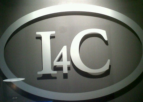 Corporate logo glass or plexi