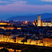 Palazzo Vecchio and the Florence Duomo by Rebecca Ang