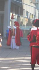 De Sint en zijn Pieten in de eerste kleuterklas!