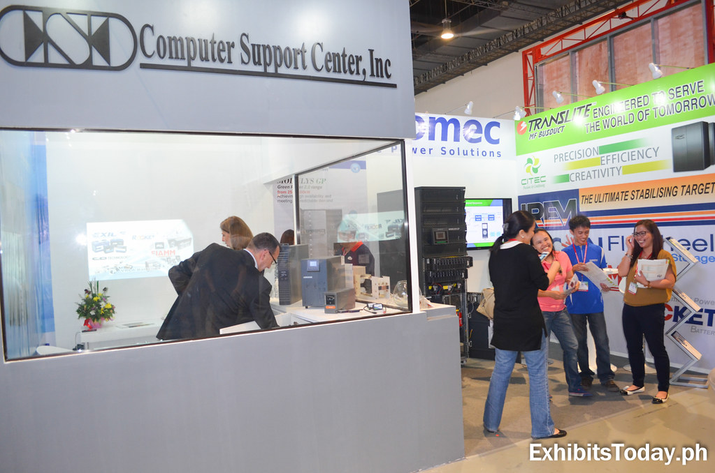 Computer Support Center Exhibit Booth
