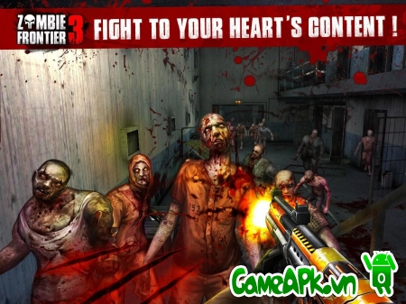 Zombie Frontier 3 v1.14 hack full tiền cho Android