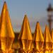 Parisian golden fence by K Jurgens