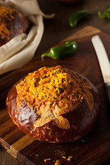 Homemade Jalapeno Cheddar Bread