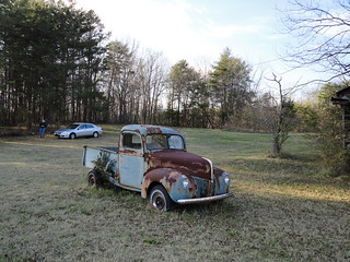 Old truck near Cleveland GA 4-1-12