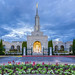 Sacramento Temple at Dawn in November by grimeshome