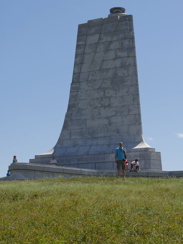 Monument at Wright Brothers National Memorial
