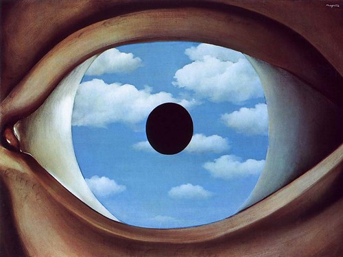 the-false-mirror-1928 - René Magritte