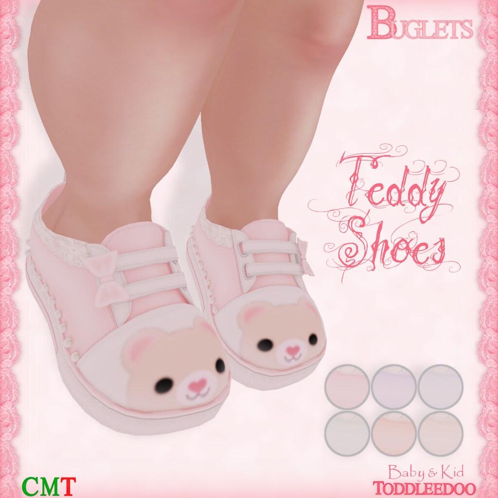 TD Teddy Shoes AD - SecondLifeHub.com