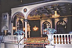 Los Angeles California ~ Millennium Biltmore Hotel ~  Entrance To Ballroom